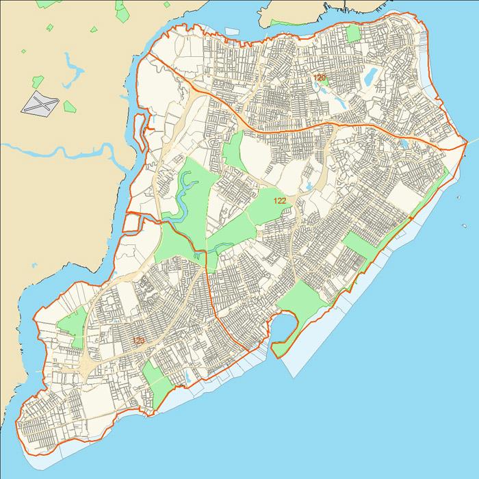 Police Precinct Map Staten Island
