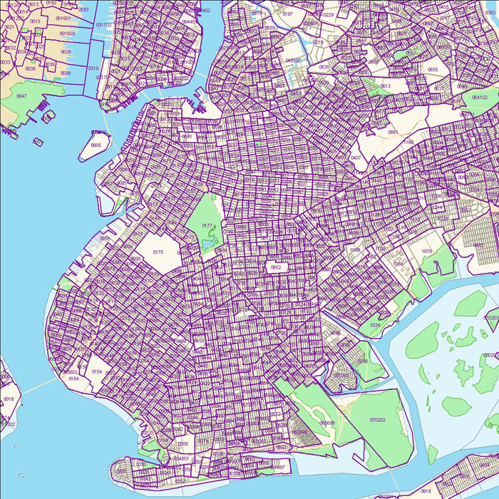 Brooklyn Census Tract Map