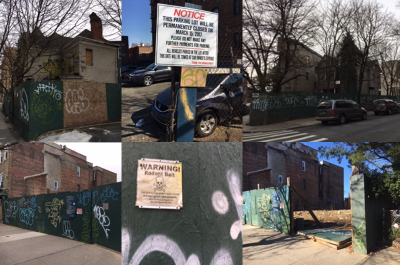 These are photos taken by a colleague on his six-block walk to work.