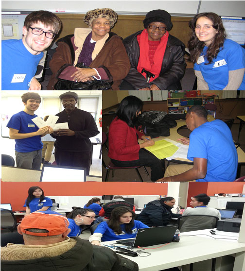 Tax Volunteers and Filers in Action @ Refuge House & Mobile Locations