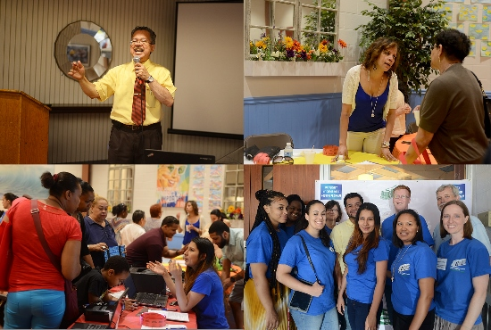 Over 250 Bronx residents attended the UNHP Immigration and Financial Resources fair on June 14th at OLR. Attendees had on-the-spot access to legal and financial services as well as the opportunity to make follow-up appointments.