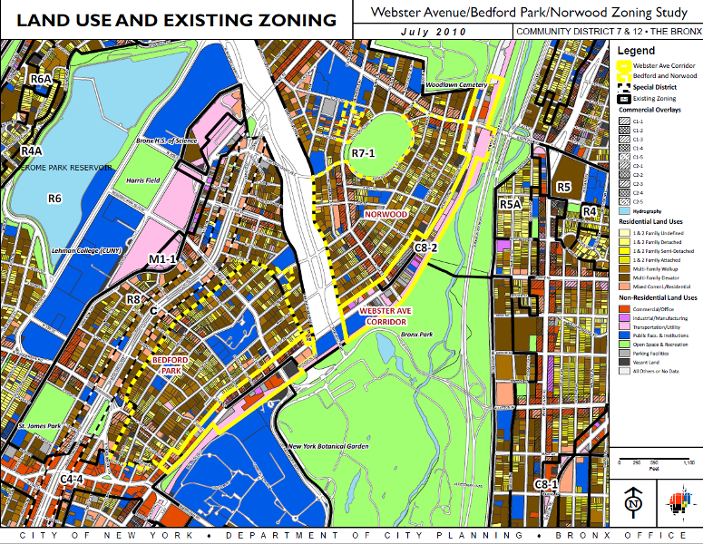 Webster Avenue Rezoning