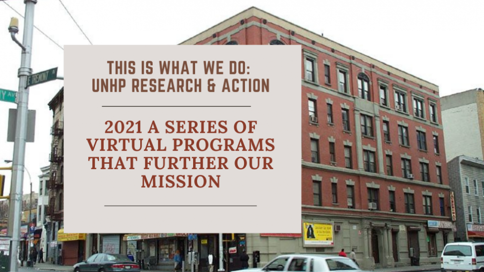 This Is What We Do: UNHP Research & Action