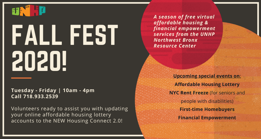 UNHP Fall Fest: A Season of Virtual Services