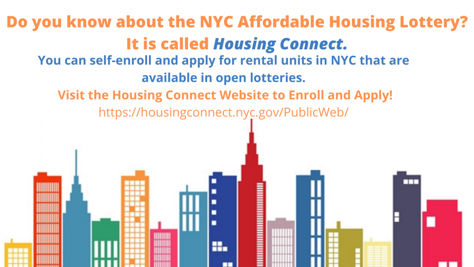 Open Bronx Housing Lotteries!