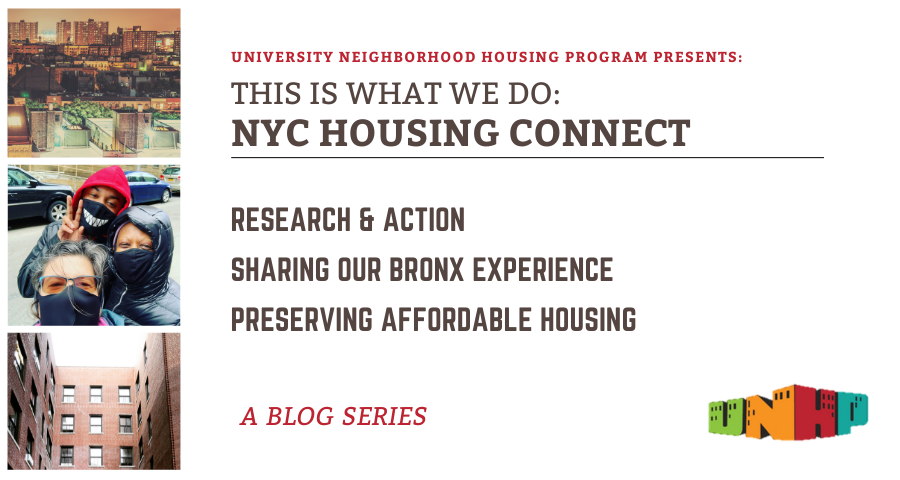 This Is What We Do: NYC Housing Connect