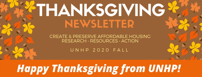 UNHP Newsletter March to November 2020