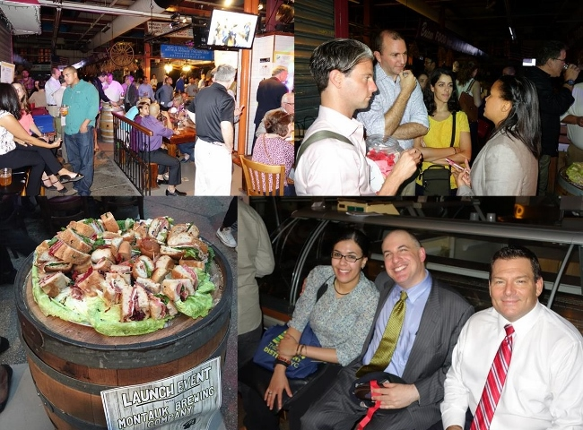 UNHP current and former staff members, affordable housing partners, Northwest Bronx Resource Center colleagues, interns and supporters enjoyed an evening a Bronx-brewed craft beers, Italian specialties and fellowship at the UNHP Bronx Beer Hall Fundraiser.