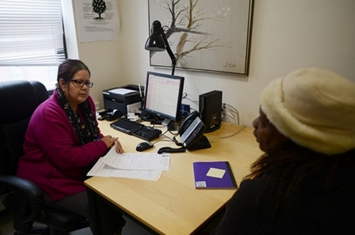 Noemi, a HUD certified counselor, provides assistance to both homeowners and those interested in buying a home.