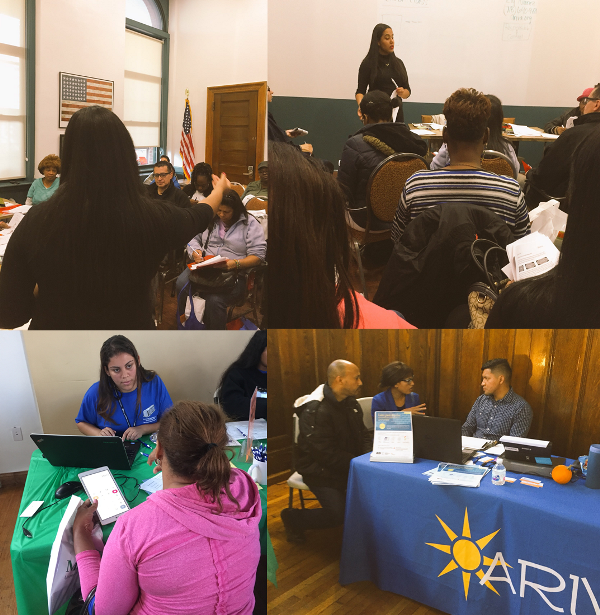 Many attendees who attended the Bronxtober Resource fest were interested in improving their credit. Ariva offered a two hour workshop to 18 people with lunch and then provided the opportunity for 30 minutes financial coaching sessions. People who enrolled with UNHP for Housing Connect could meet with Ariva's Ready to Rent financial counselor to review their credit and ensure that they were financially prepared to move.